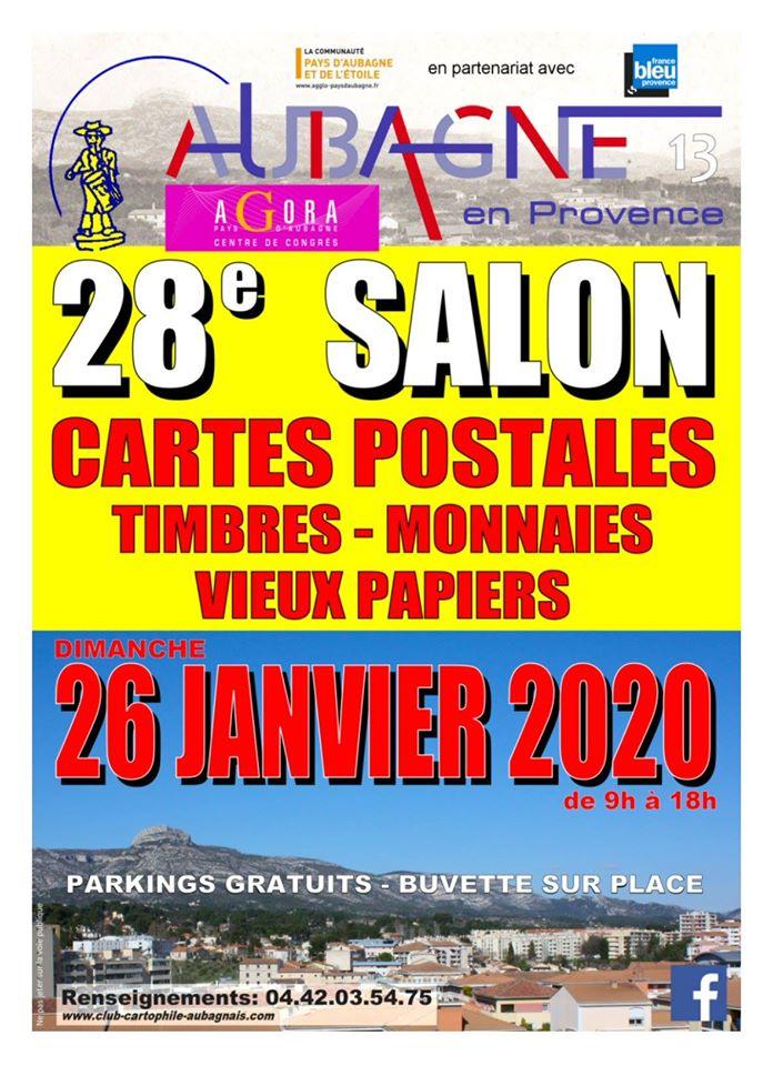 Salon CP, philatélie, . . Aubagne Agora_10