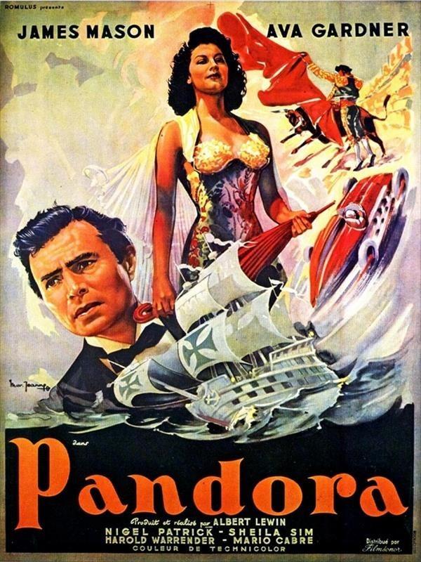 Quelqu'un a vu Pandora de Albert Lewin, avec Ava Gardner et James Mason ?  7_492510