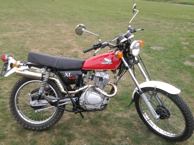Honda 125 XL Photo109
