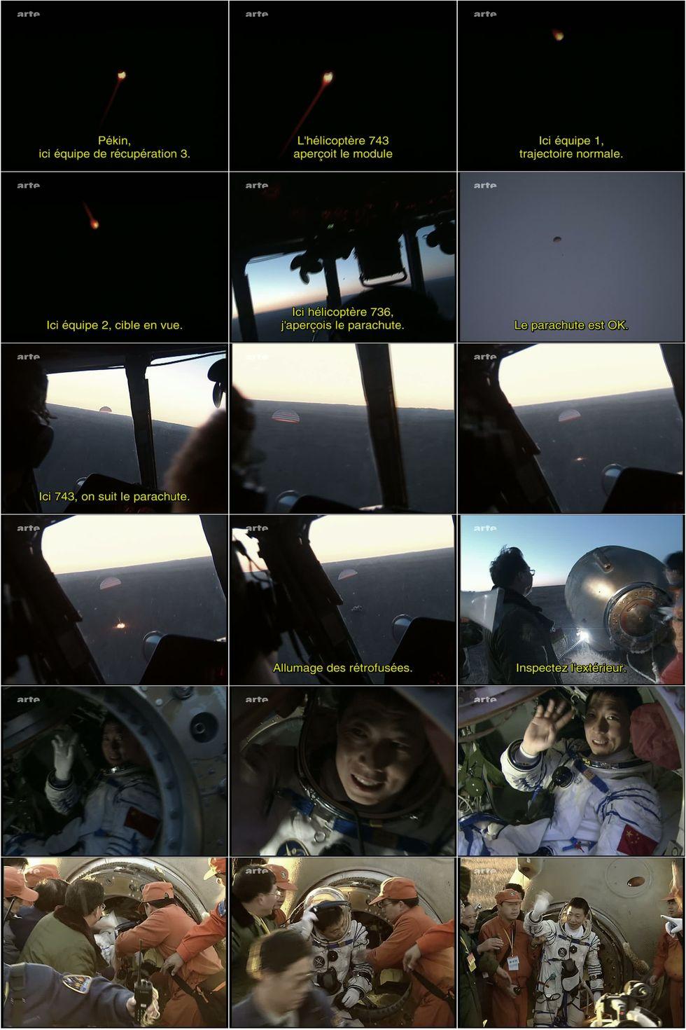 ARTE - Le premier chinois dans l'espace 10atte10
