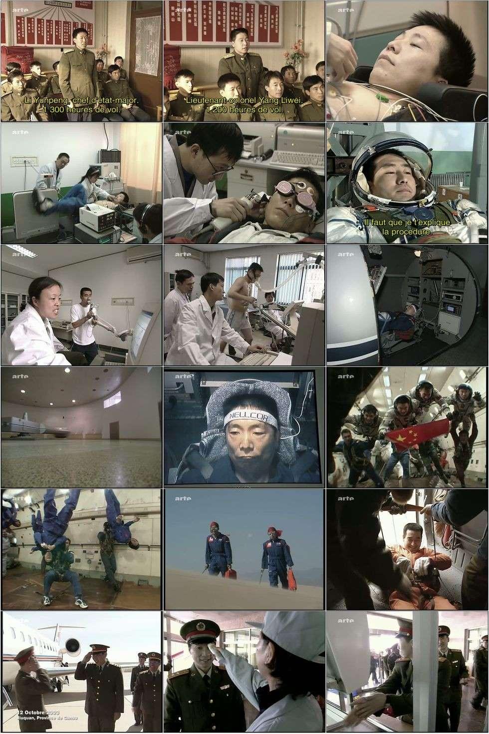 ARTE - Le premier chinois dans l'espace 3selec10