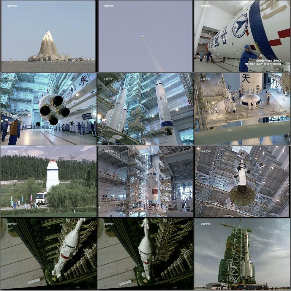 ARTE - Le premier chinois dans l'espace 5fusee10