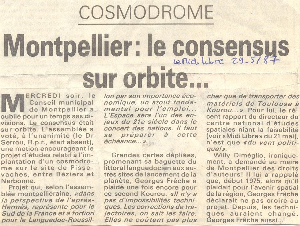 Cosmodrome du Languedoc 87052910