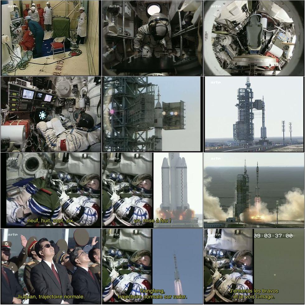 ARTE - Le premier chinois dans l'espace 8insta10