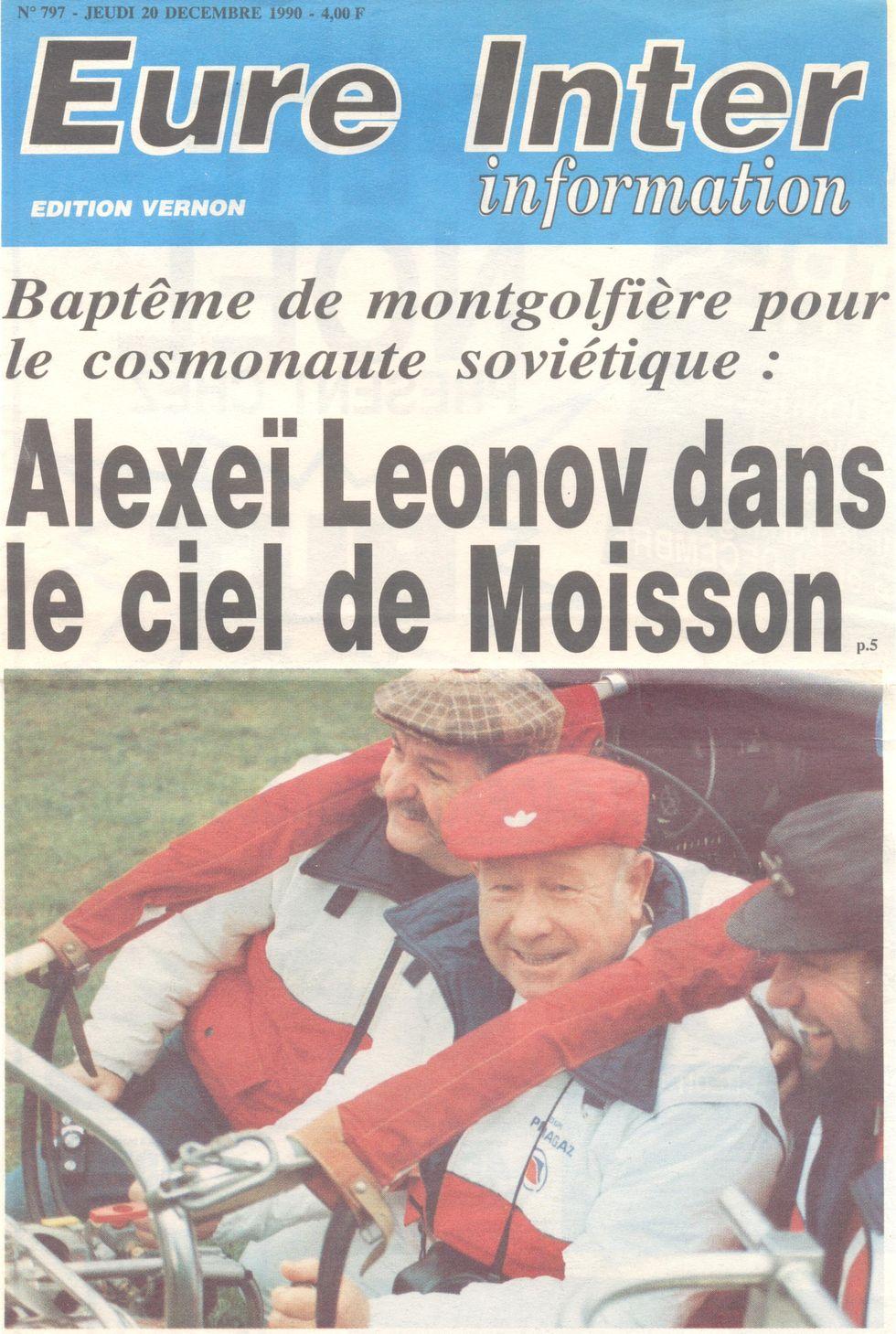 Leonov, le piéton de l'espace 90122010