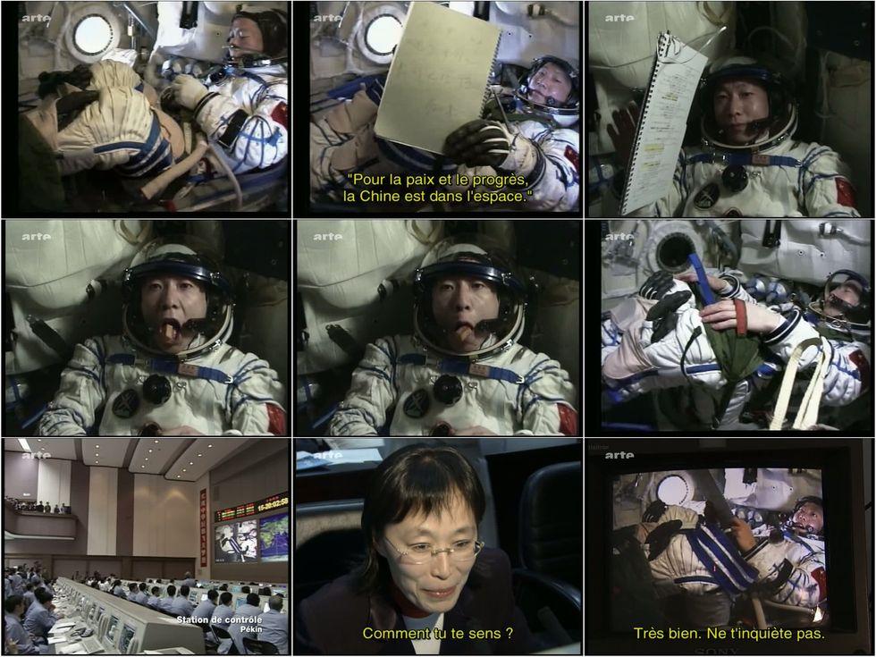 ARTE - Le premier chinois dans l'espace 9en_or10