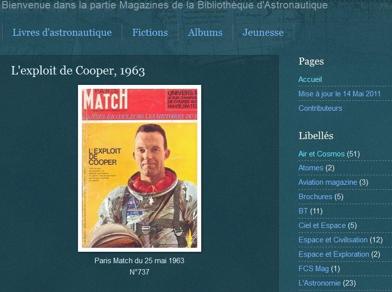15 mai 1963 - Mercury Atlas  3 - Gordon Cooper Cooper10
