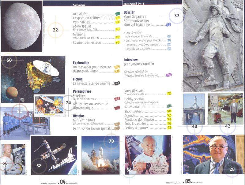 Espace & Exploration - Nouveau magazine - Page 2 Sommai10