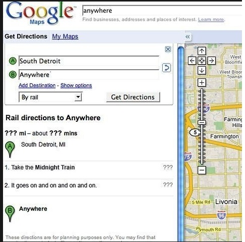 Google Maps Win! Southd10