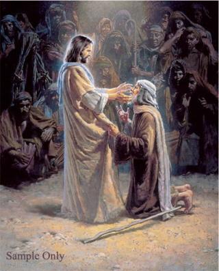 COJ KOJ LUB TEEB MUS CI RAU LUB NTIAJ TEB Jesus-10