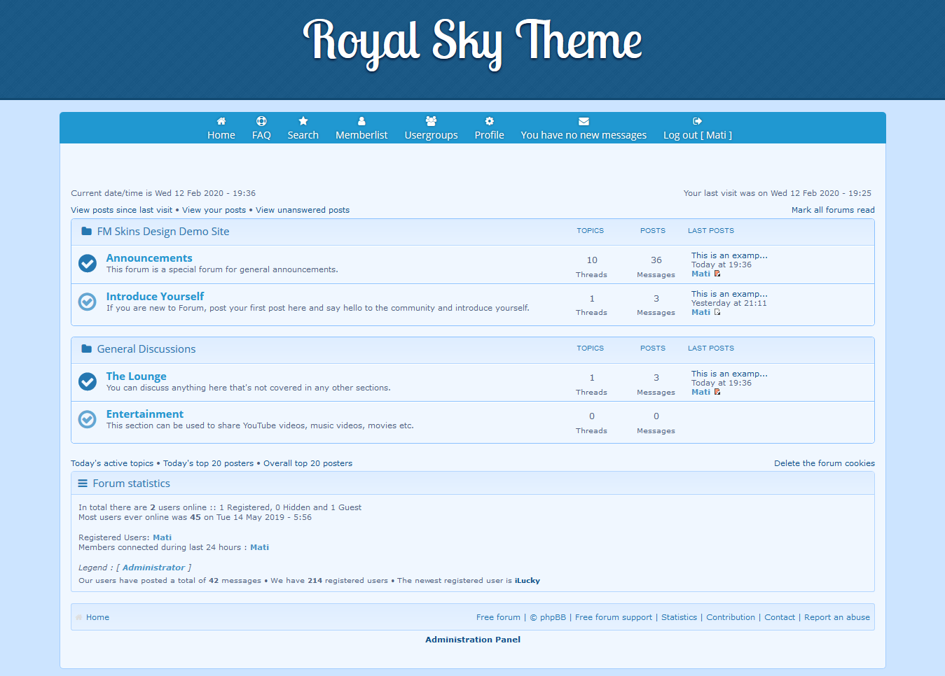 FM Skin - Professional Quality Forumotion Themes Skythe10