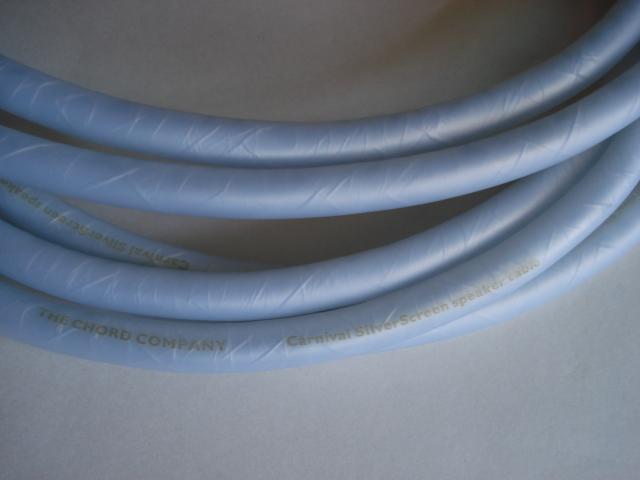 Chord Carnival SilverScreen Speaker Cable 2.5m (New) Carniv12