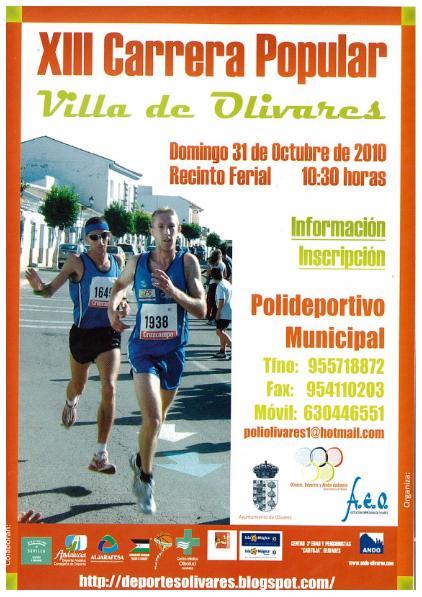 XIII Carrera Popular Villa de Olivares, 3 Octubre 2010 Follet10