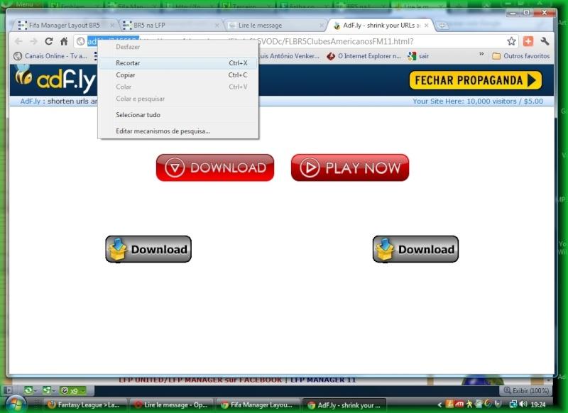 Como fazer downloads recortando ''add fly''... do link  antes do shared Novo-213