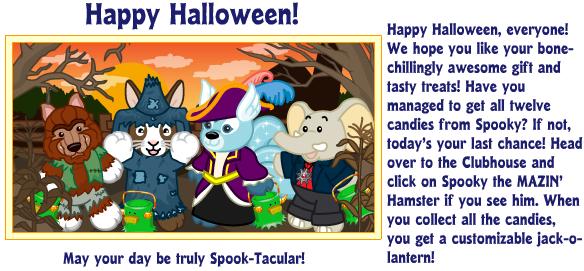 Halloween Reaches Webkinz World! H210