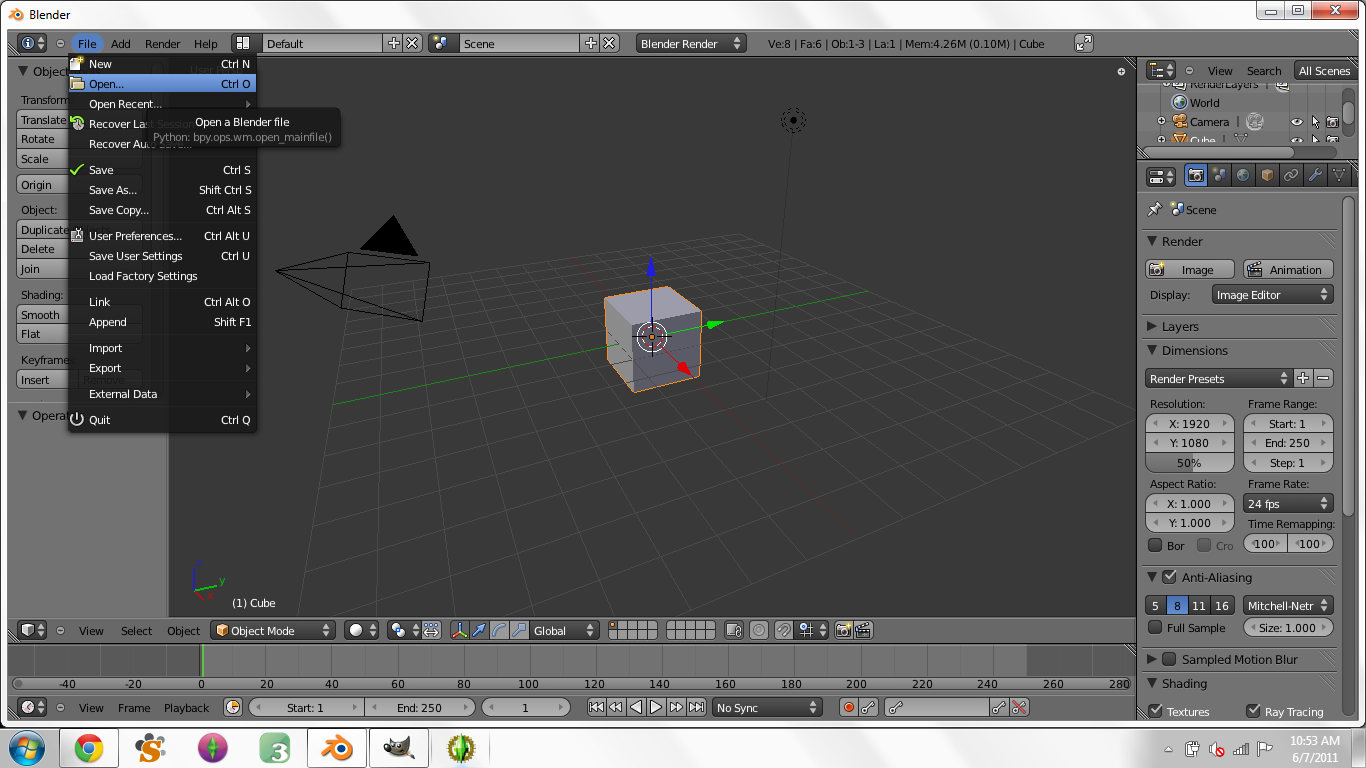 Creating Custom Poses in Blender for Dummies - Page 3 1210