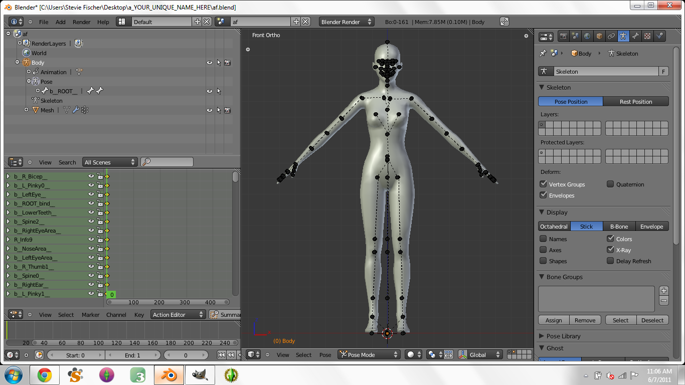 Creating Custom Poses in Blender for Dummies - Page 3 1710