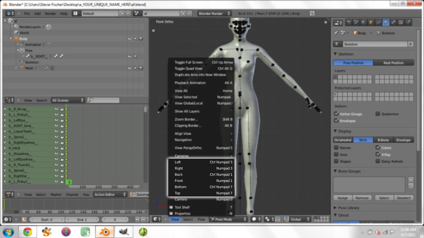 Creating Custom Poses in Blender for Dummies - Page 3 1810