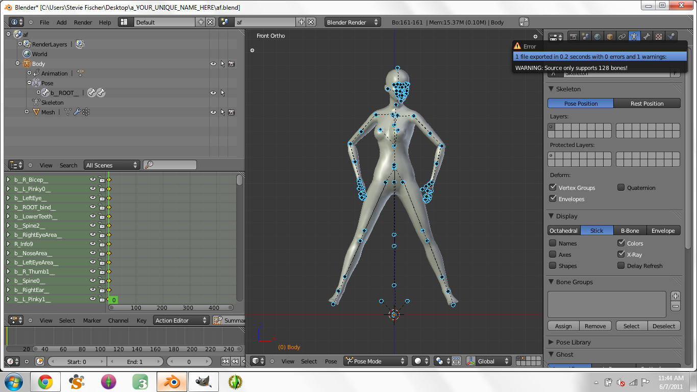 Creating Custom Poses in Blender for Dummies - Page 3 2410