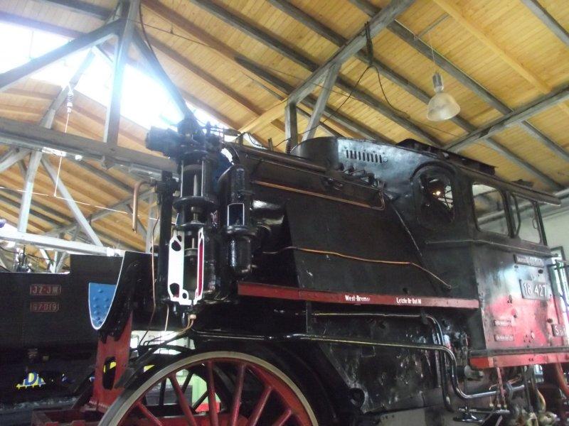 Lok 18 427 (S3/6) in Freilassing Lokwe127