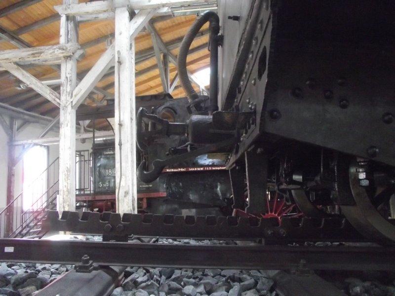 III C 719 Zahnraddampflokomotive (Schmalspur) Lokwe186