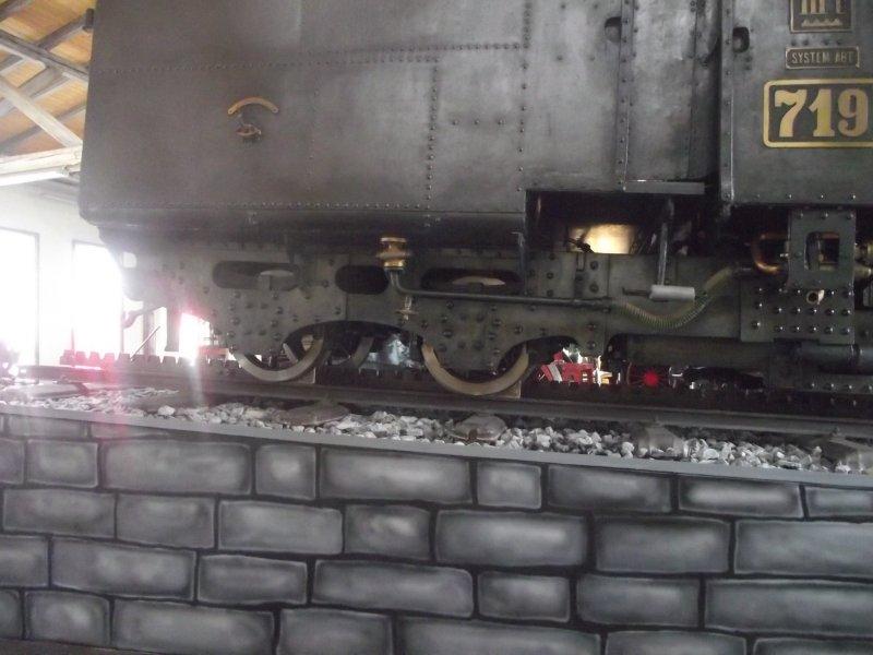 III C 719 Zahnraddampflokomotive (Schmalspur) Lokwe190
