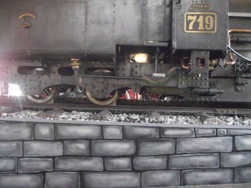 III C 719 Zahnraddampflokomotive (Schmalspur) Lokwe192