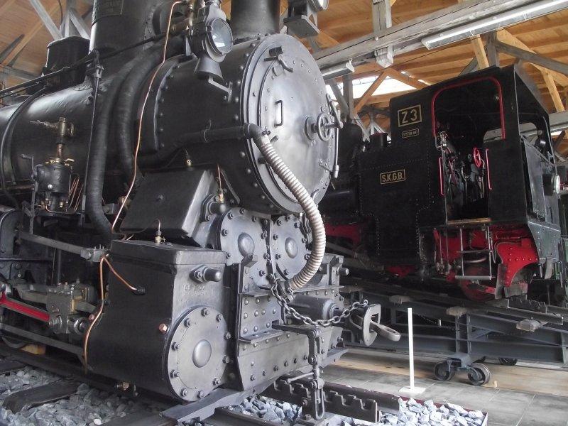 III C 719 Zahnraddampflokomotive (Schmalspur) Lokwe205