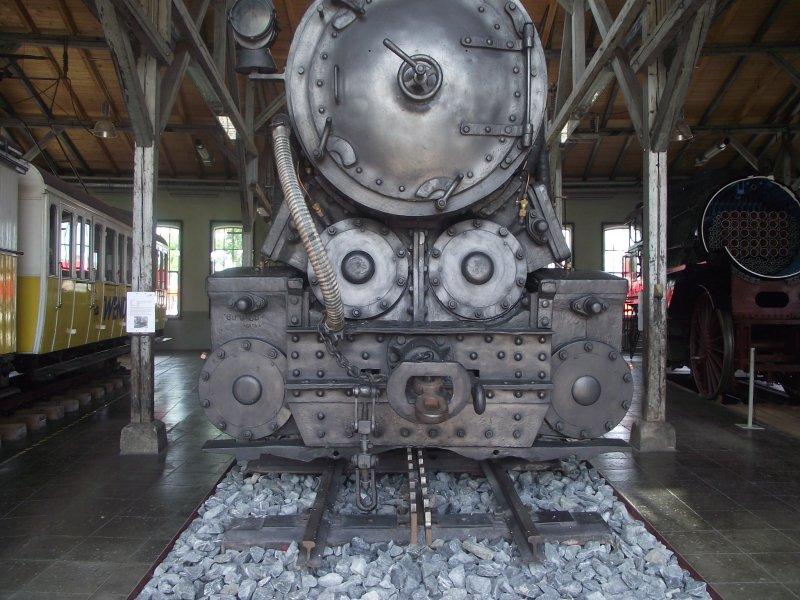 III C 719 Zahnraddampflokomotive (Schmalspur) Lokwe206