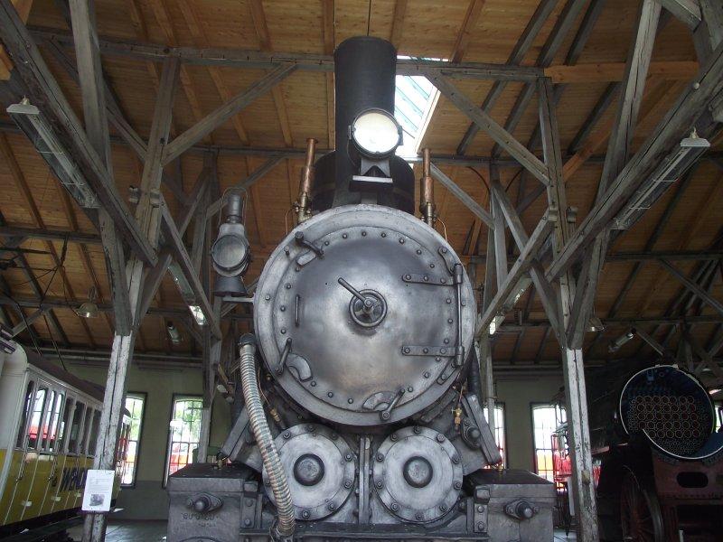 III C 719 Zahnraddampflokomotive (Schmalspur) Lokwe207