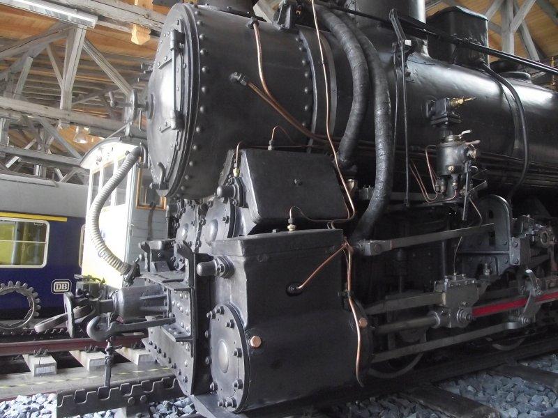 III C 719 Zahnraddampflokomotive (Schmalspur) Lokwe209
