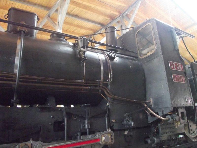 III C 719 Zahnraddampflokomotive (Schmalspur) Lokwe214