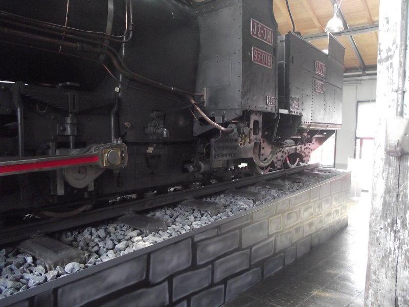 III C 719 Zahnraddampflokomotive (Schmalspur) Lokwe215