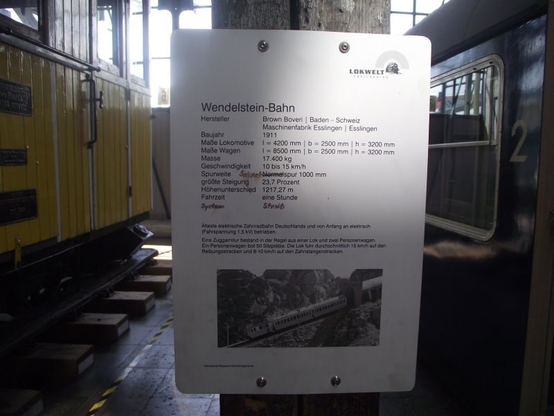 Wendelsteinbahn Lokwe336