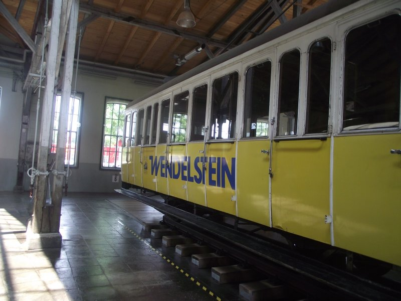 Wendelsteinbahn Lokwe337