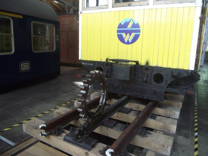 Wendelsteinbahn Lokwe341