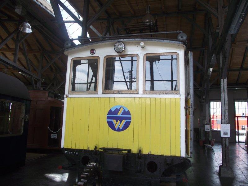 Wendelsteinbahn Lokwe342