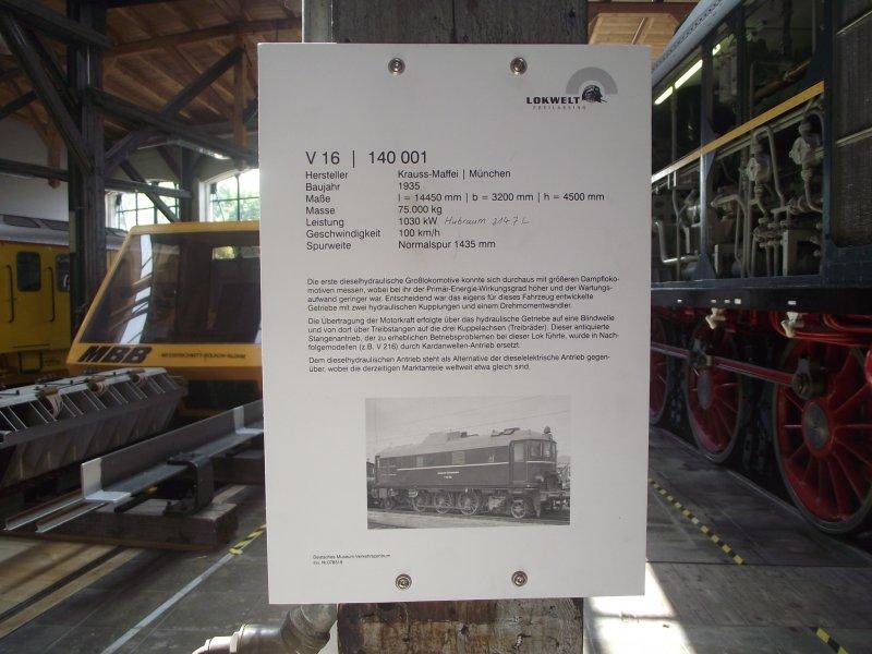 V 140 001 Lokwe357
