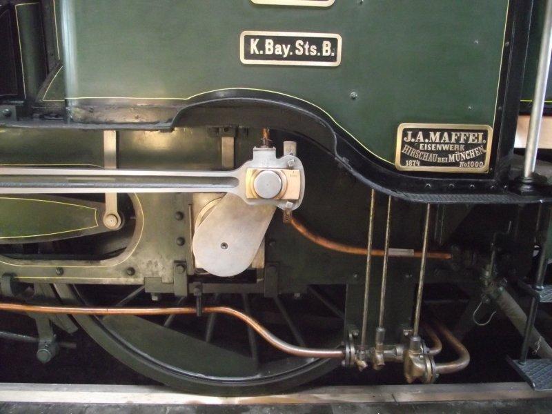 B IX Königliche Bayerische Staats Bahn Lokwe436