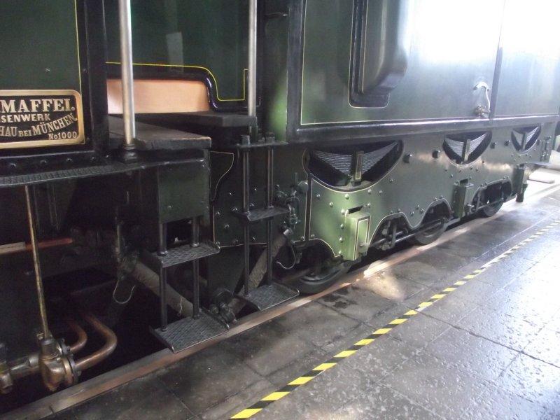 B IX Königliche Bayerische Staats Bahn Lokwe438