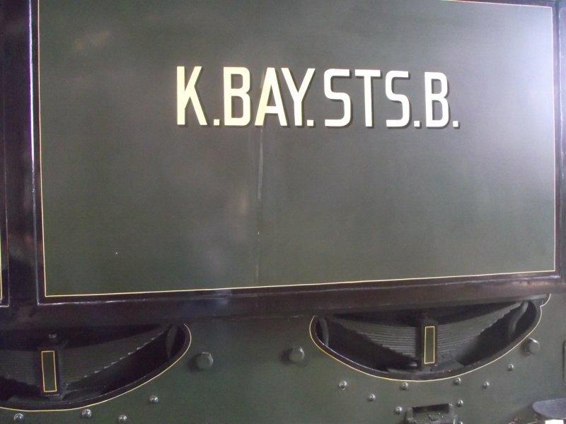 B IX Königliche Bayerische Staats Bahn Lokwe440