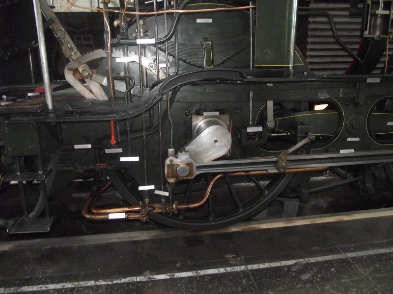 B IX Königliche Bayerische Staats Bahn Lokwe447