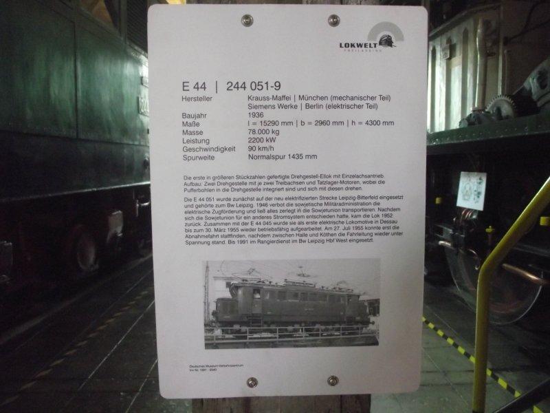 E 44 051 9 Lokwe474
