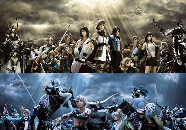 PREVIEW : Dissidia Duodecim Ouvert10