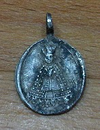medaille religieuse en argent a id Medail12