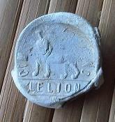 """plomb de sac de ciment de neufchatel """"le lion"""" Plomb_14"""
