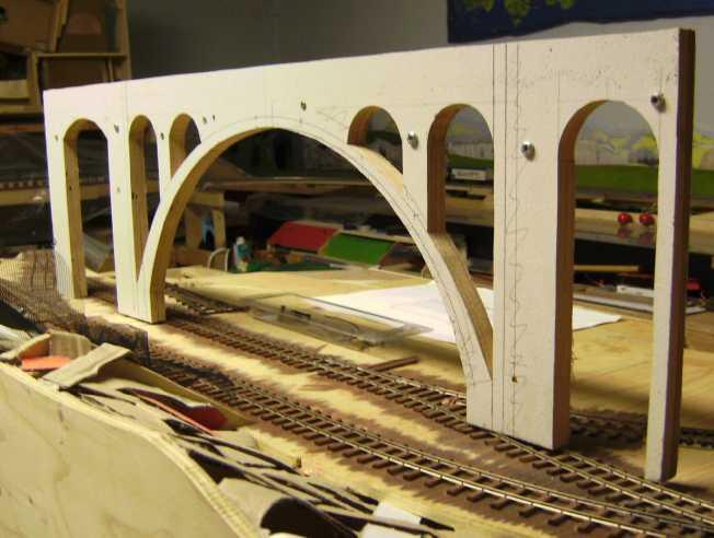 Untere Meienreuss-Brücke in 1:87 Bild5717