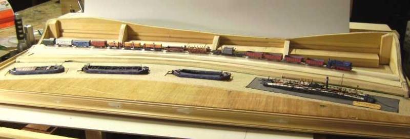 """Diorama """"Main-Kettenschlepper"""" von MB-Modellbau, 1:250 Bild5929"""