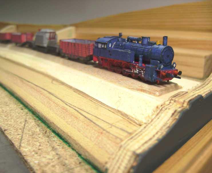 """Diorama """"Main-Kettenschlepper"""" von MB-Modellbau, 1:250 Bild5931"""
