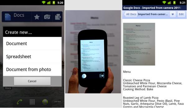 [SOFT] GOOGLE DOCS : La suite office de Google pour Android [Gratuit] Androi12